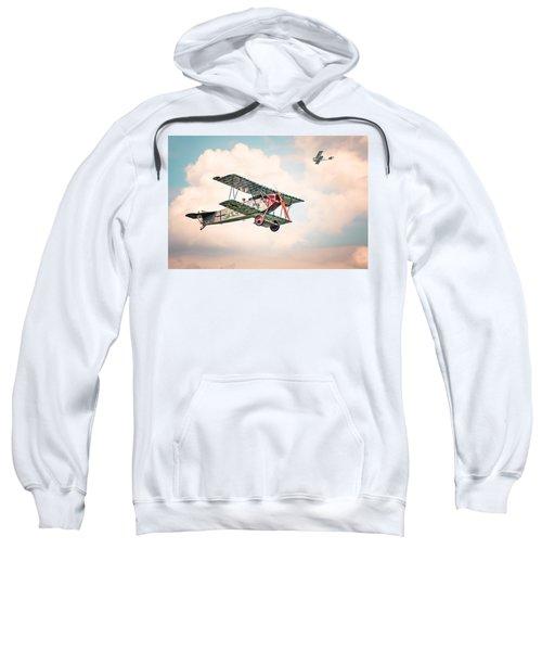 Golden Age Of Aviation - Replica Fokker D Vll - World War I Sweatshirt