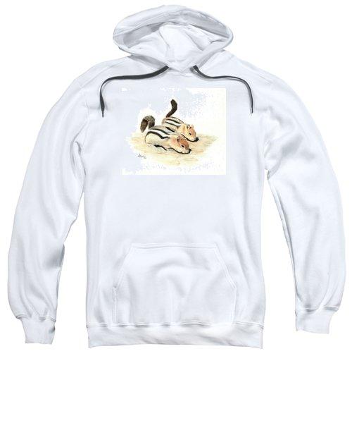 Golden-mantled Ground Squirrels Sweatshirt