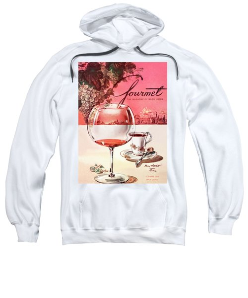 Gourmet Cover Illustration Of A Baccarat Balloon Sweatshirt