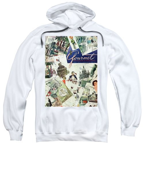 Gourmet Cover Illustration Of Drawings Portraying Sweatshirt