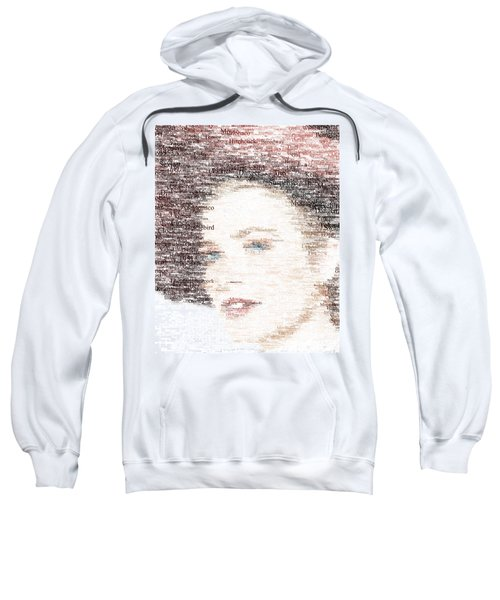Grace Kelly Typo Sweatshirt by Taylan Apukovska