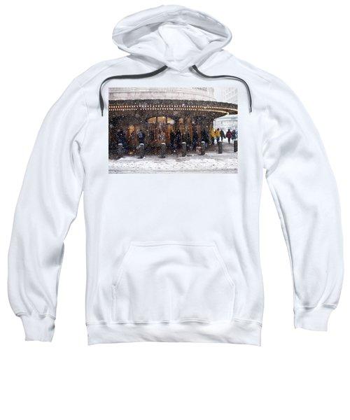 Grand Central Terminal Snow Color Sweatshirt