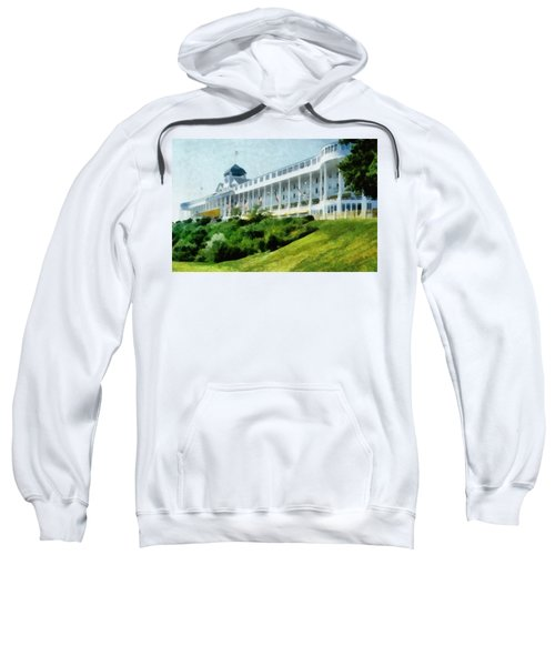 Grand Hotel Mackinac Island Ll Sweatshirt