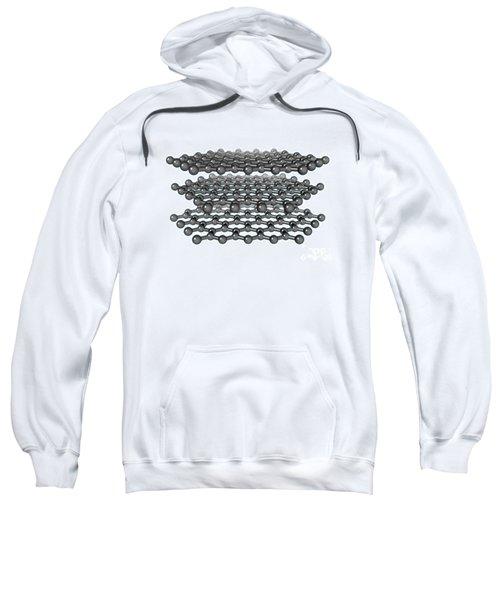 Graphite Molecular Model Sweatshirt