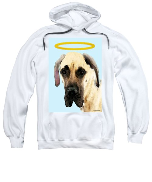 Great Dane Art - I Didn't Do It Sweatshirt