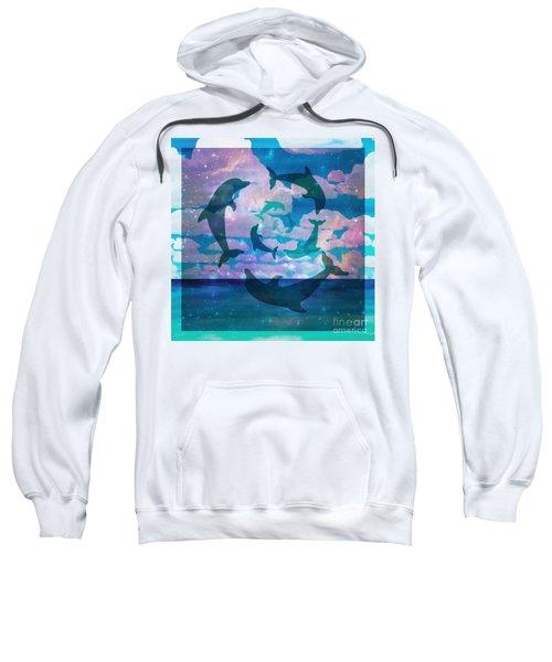 Green Dolphin Dance Sweatshirt