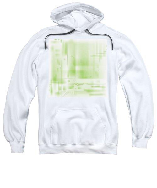Green Ghost City Sweatshirt