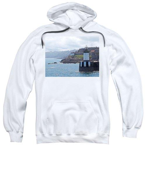 Guernsey Lighthouse Sweatshirt by Gill Billington