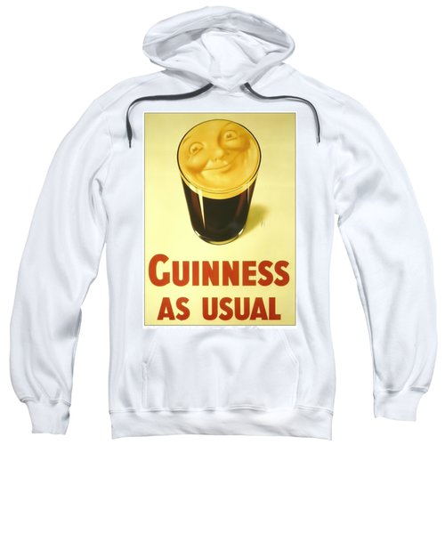 Guinness As Usual Sweatshirt
