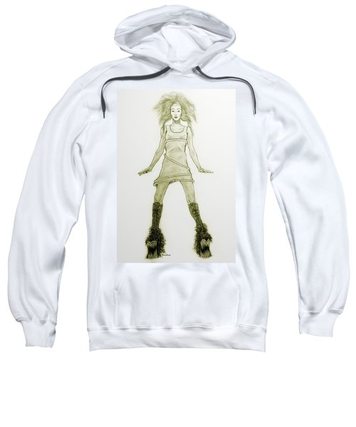 Hairy Boots Sweatshirt