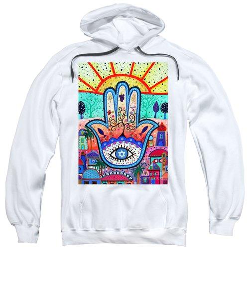 Hamesh Evil Eye Sweatshirt