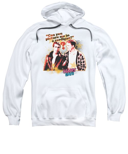 Happy Days - No Cardigans Sweatshirt