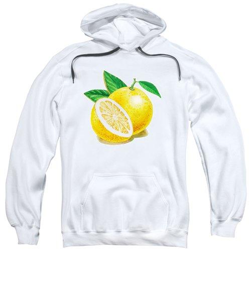 Happy Grapefruit- Irina Sztukowski Sweatshirt by Irina Sztukowski