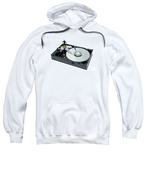 Hard Drive Firewall Sweatshirt