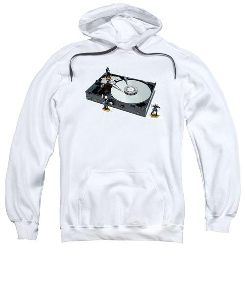 Hard Drive Security Sweatshirt