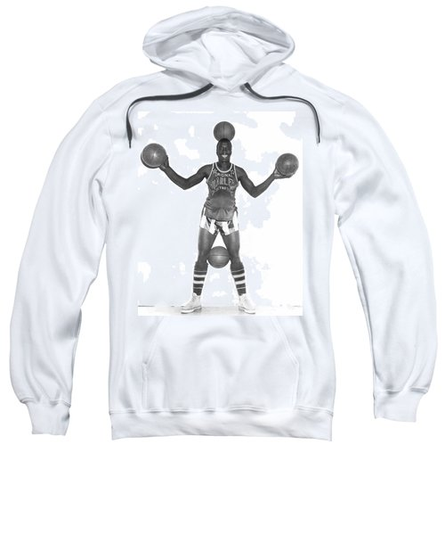 Harlem Globetrotters Player Sweatshirt by Underwood Archives