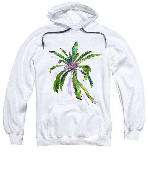 Hawaiian Haha Plant Cyanea Stictophylla Sweatshirt