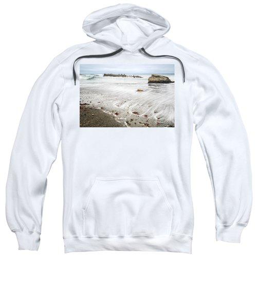 Hazard Reef - The Jagged Rocks Of Montana De Oro State Park Sweatshirt