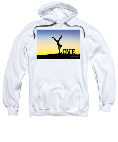 Head Over Heels In Love Sweatshirt