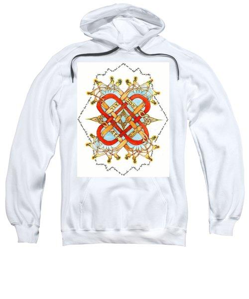 Hebrew Words For Love Sweatshirt