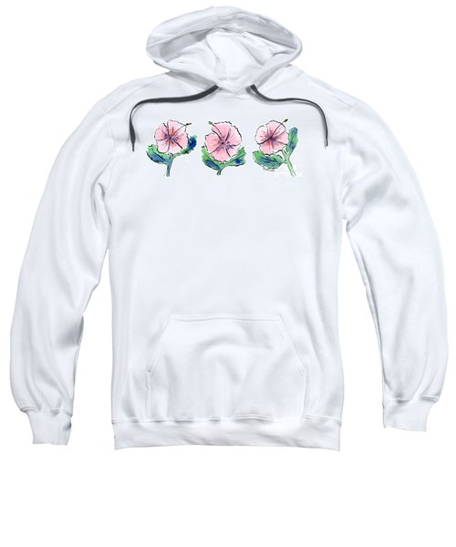 Hibiscus Trio Sweatshirt