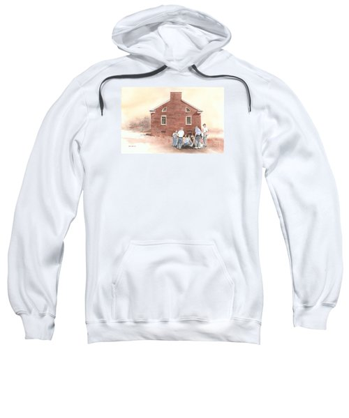 High Noon Shootout At The Tidal School  Sweatshirt