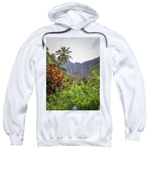 Hiilawe And Hakalaoa Falls Sweatshirt