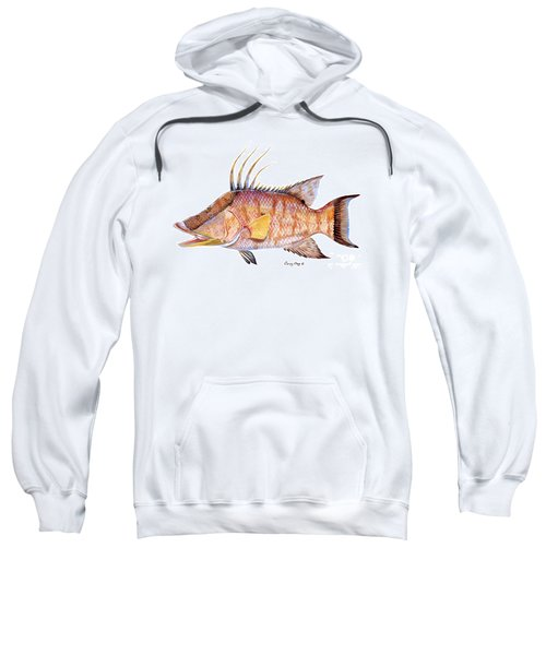 Hog Fish Sweatshirt by Carey Chen