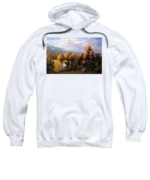 Hood At Late Afternoon Sweatshirt
