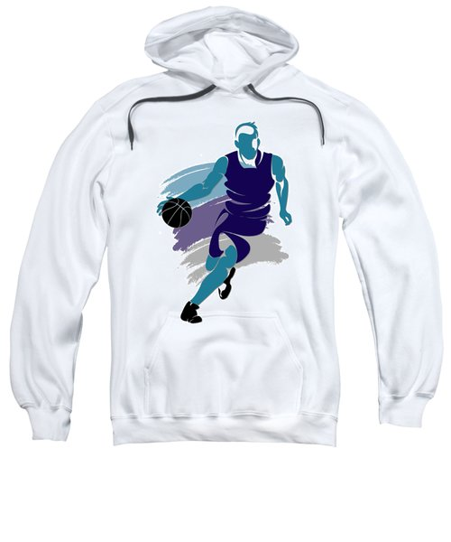 Hornets Basketball Player2 Sweatshirt