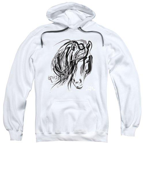 Horse- Hair And Horse Sweatshirt