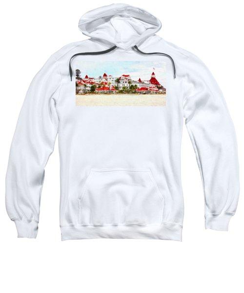 Hotel Del Coronado In Coronado California 5d24312wcstyle Long Sweatshirt