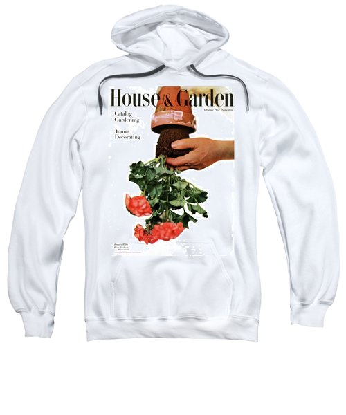House And Garden Cover Featuring A Person Sweatshirt