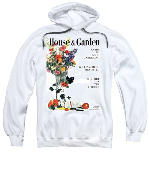 House And Garden Guide To Good Gardening Cover Sweatshirt