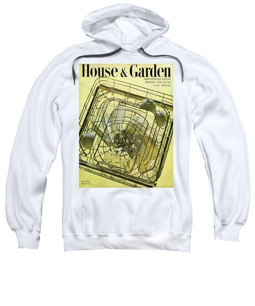 House And Garden Servant Less Living Houses Cover Sweatshirt