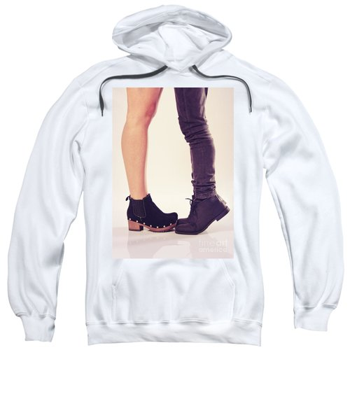 How To Kiss A Tall Girl Sweatshirt