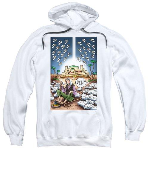 I Keep Hearing Music Sweatshirt