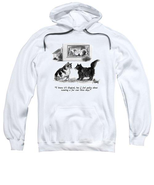 I Know It's Illogical Sweatshirt