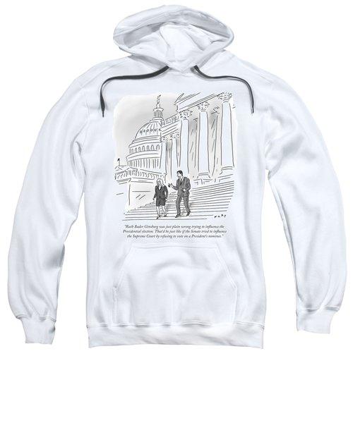 If The Senate Tried To Influence The Supreme Sweatshirt