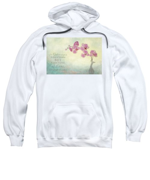 Ikebana With Message Sweatshirt