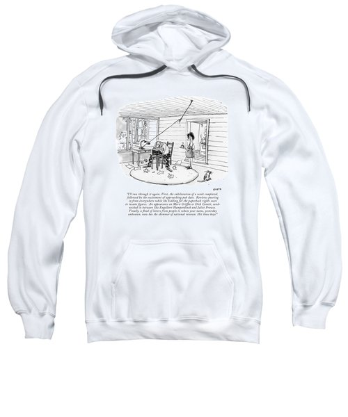I'll Run Through It Again. First Sweatshirt