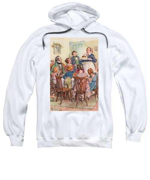 Illustration For A Christmas Carol Sweatshirt