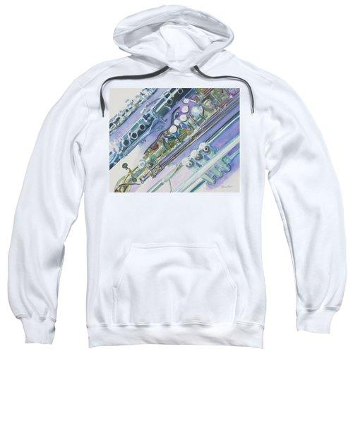 I'm Still Painting On The Keys Sweatshirt