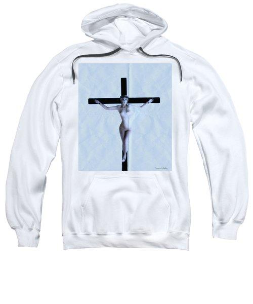Immerse Crucifix Sweatshirt