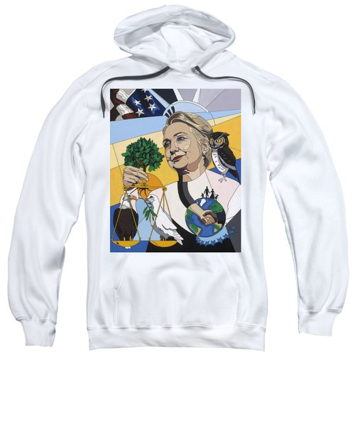 In Honor Of Hillary Clinton Sweatshirt