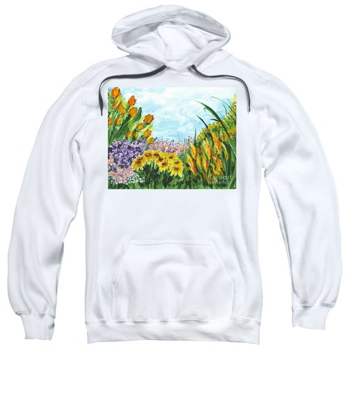 In My Garden Sweatshirt