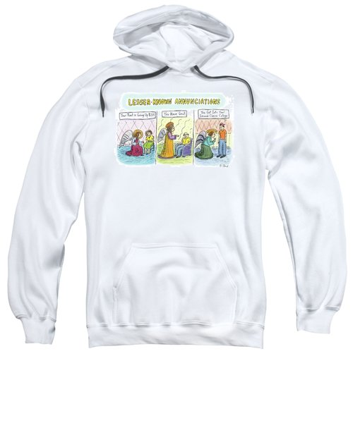 In The First Panel Sweatshirt
