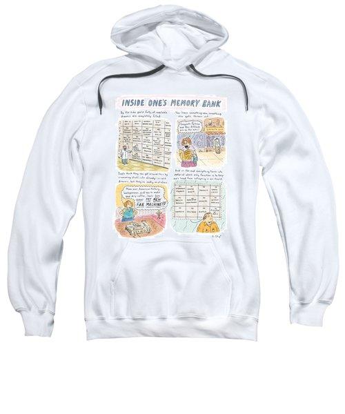 'inside One's Memory Bank' Sweatshirt