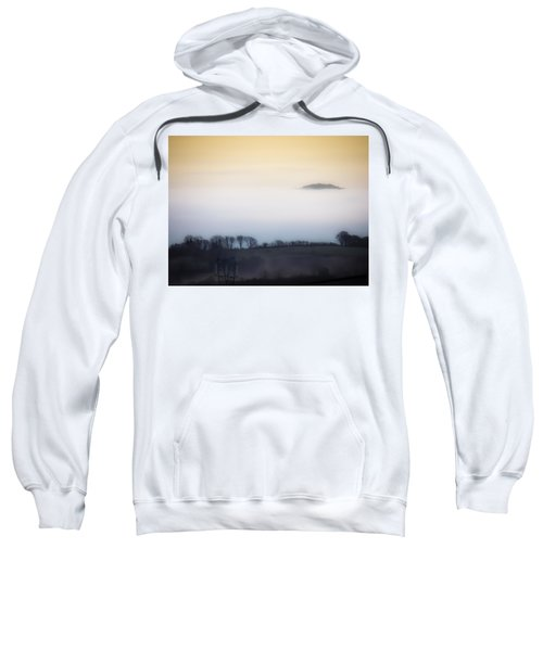 Sweatshirt featuring the photograph Island In The Irish Mist by James Truett