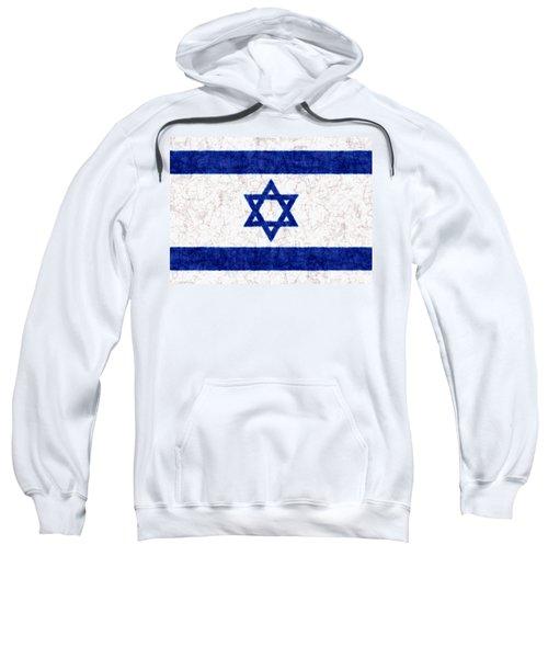Israel Star Of David Flag Batik Sweatshirt